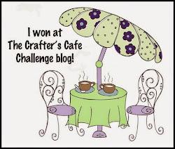 winner 109 challenge crafter´s cafe challenge