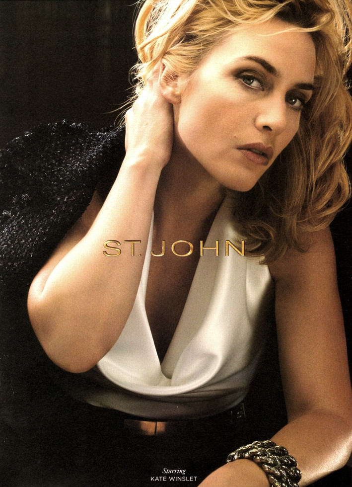 Beauty Kate Winslet Hairstyle on St. John Autumn/Winter 2011