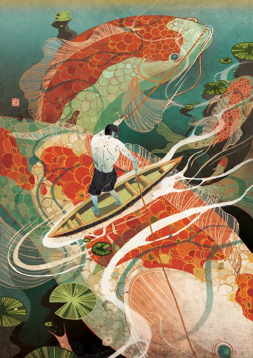 Victo Ngai illustration via Yellowmenace