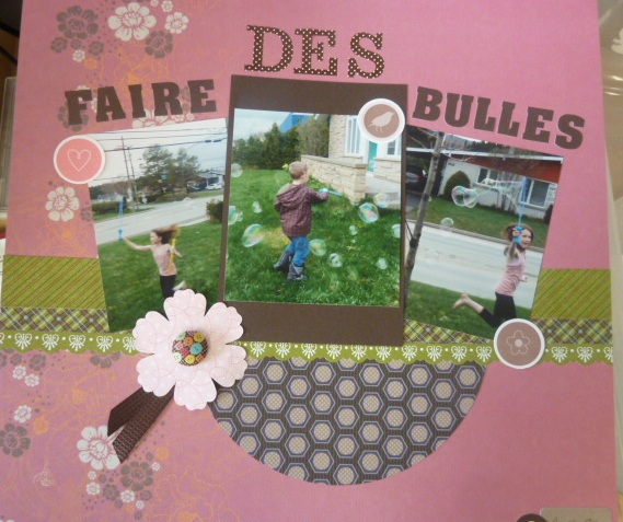 passion scrapbooking faire des bulles. Black Bedroom Furniture Sets. Home Design Ideas