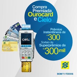 Promoção Compra Premiada Ourocard e Cielo 2012