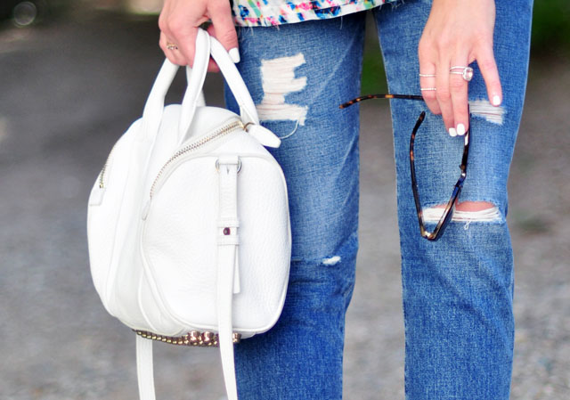 boyfriend jeans, superga sneakers, alexander wang bag