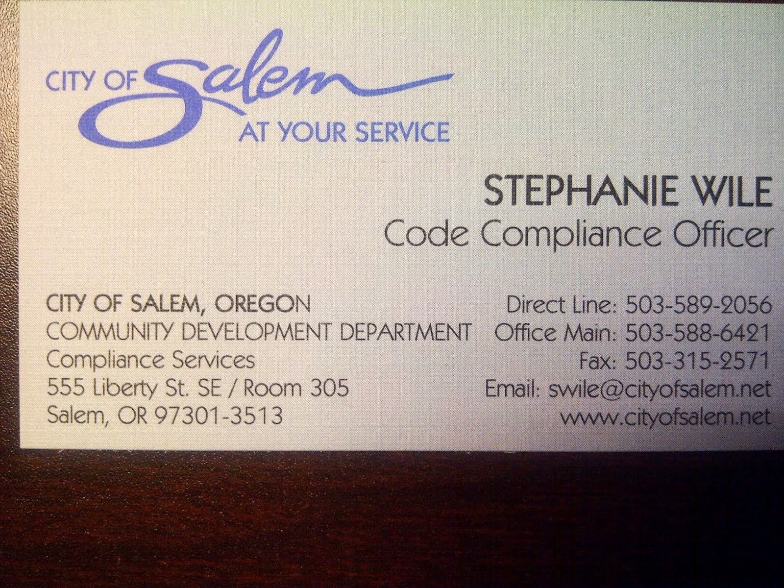 sgna news contact info for code pliance officer