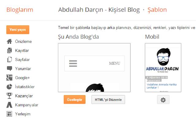 blogger bildirim