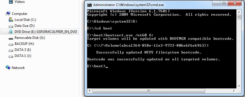 Tutorial Install Windows 7 Menggunakan USB FlashDisk