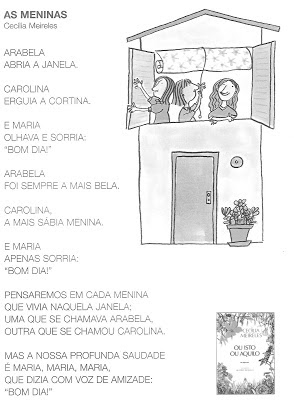 INFANTIL Cecilia Meireles Poesias Do Livro Ou Isto Ou