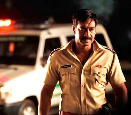 Indian-movie-Bollywood-film-Ajay-Devgn-Kajal-Agarwal-Hindi-flick-Singham
