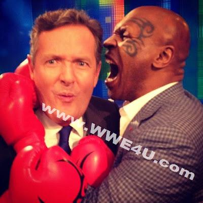 صورة طريفة| مايك تايسون يعض أذن مذيع تلفزيوني!