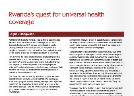 essay on universal access to reproductive health services Related News