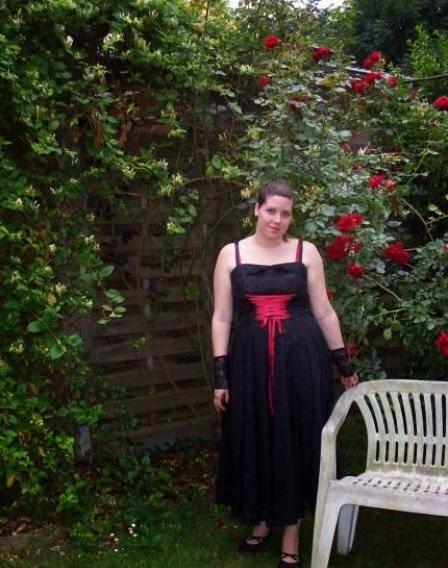 Kleid vom Abiball 2007