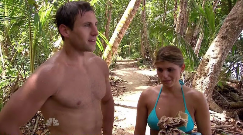 Skip Sullivan Shirtless in Love in the Wild s1e07