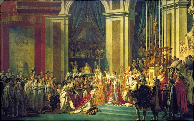 Coronacion Napoleon Bonaparte
