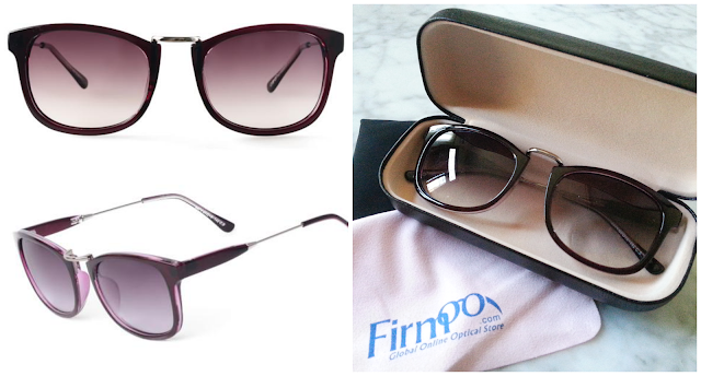 Firmoo sunglasses modelo #OTO3574 en color purple