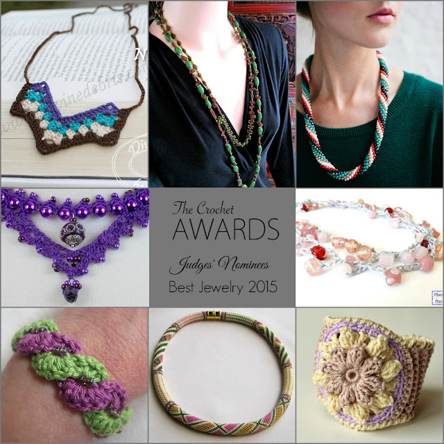 Best Jewelry 2015 by The Crochet Awards