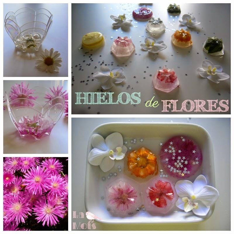 cubitos de flores