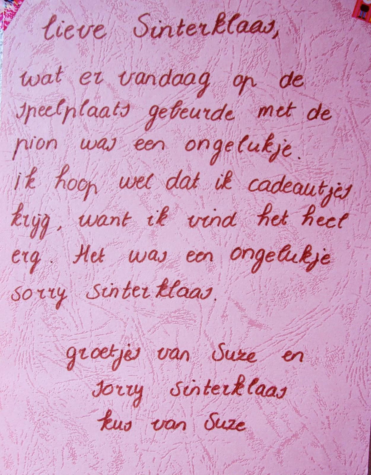 Boevenfeest: Sorry Sinterklaas