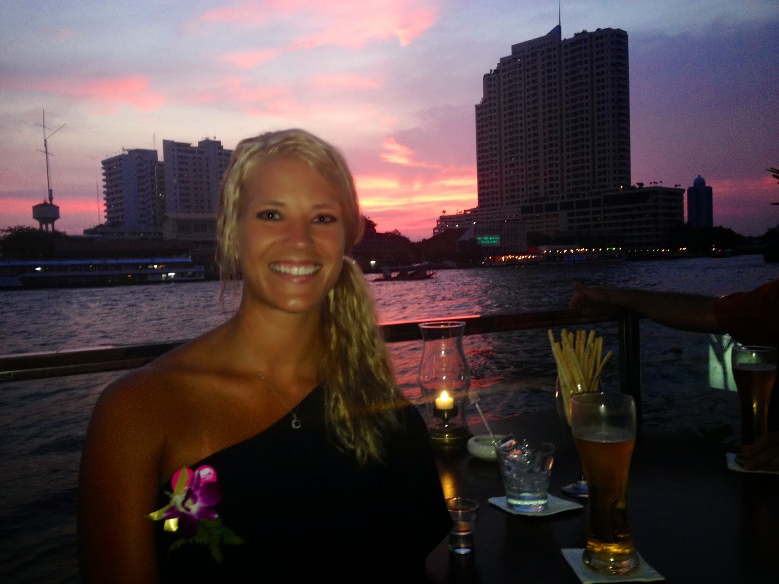 Chao Phraya Bangkok Dinner Cruise Sunset