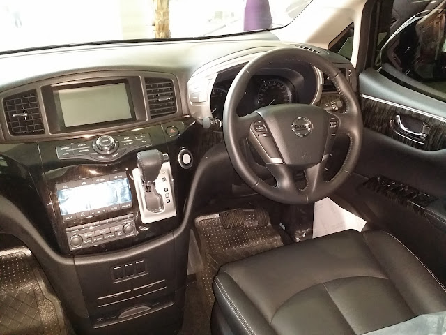 INTERIOR DALAM NISSAN NEW ELGRAND