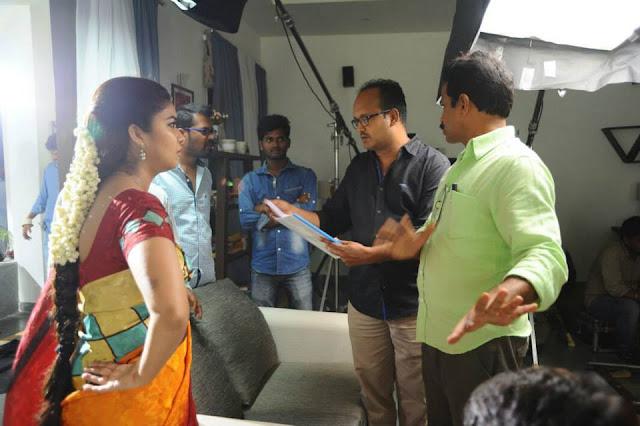 Tripura Movie Working Stills | Swathi | Naveen Chandra