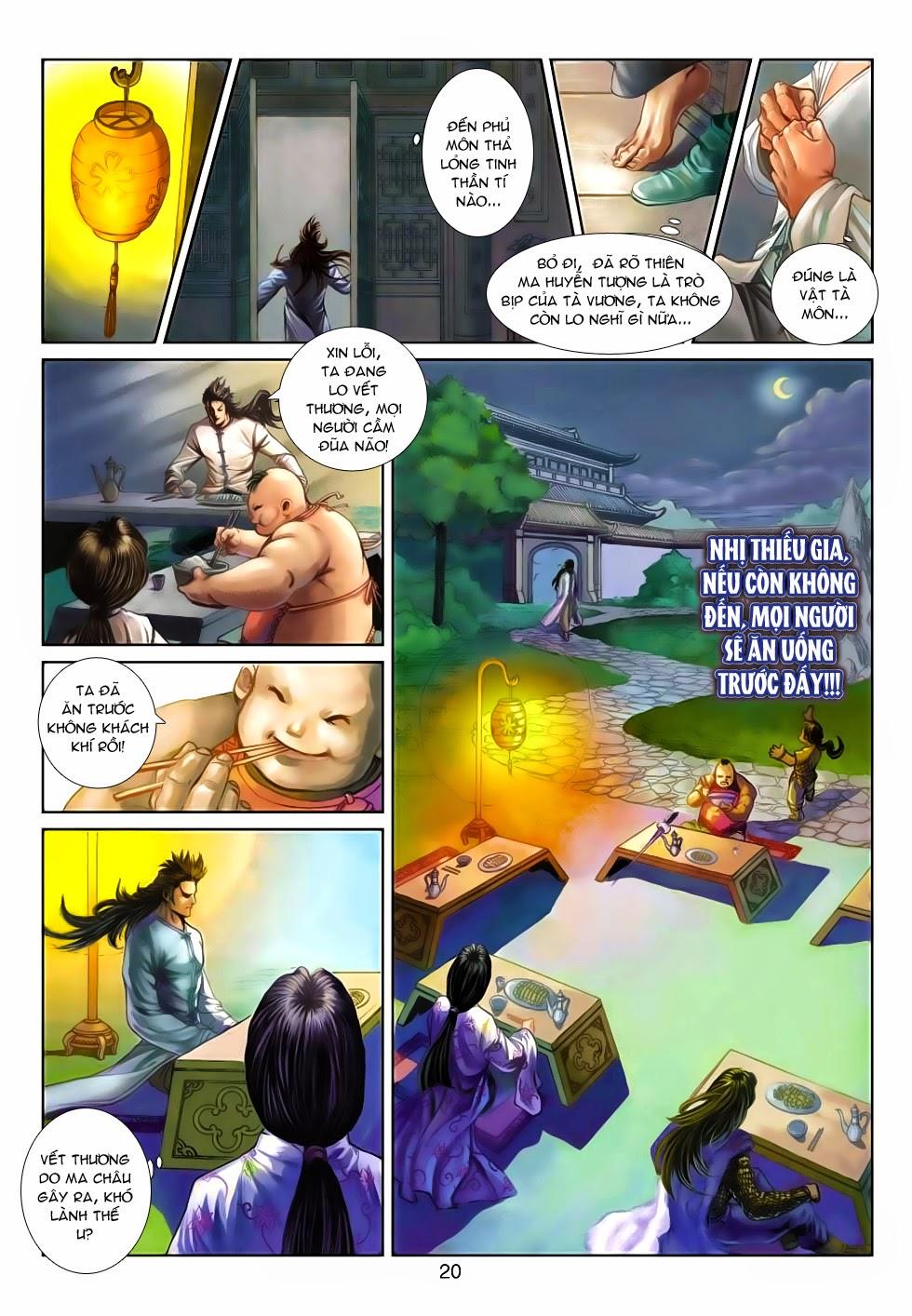 Thần Binh Tiền Truyện 4 - Huyền Thiên Tà Đế chap 5 - Trang 20