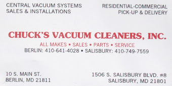 Chuck's Vacuum Cleaners, Inc