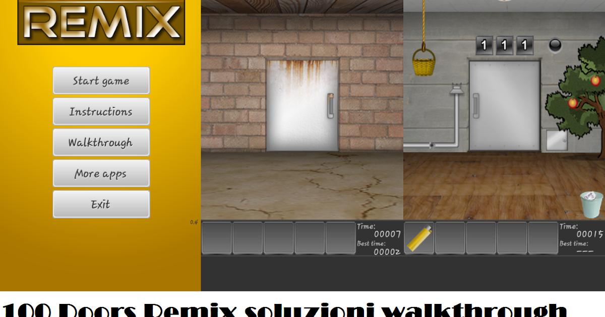 100 doors remix soluzione livello 21 22 23 24 25 for 100 doors door 22