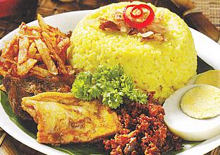Resep Cara Membuat Nasi Uduk Kuning