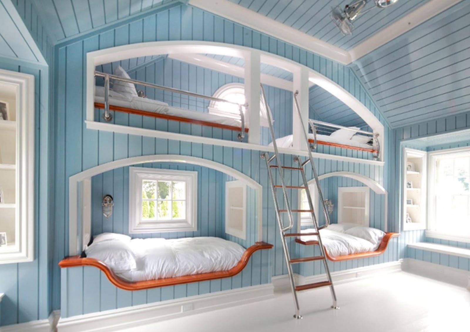 3. Bedroom Idea For 4 Girls