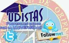 HAGA CLICK EN LA IMAGEN PARA VER TWITTER: @UdistasNS