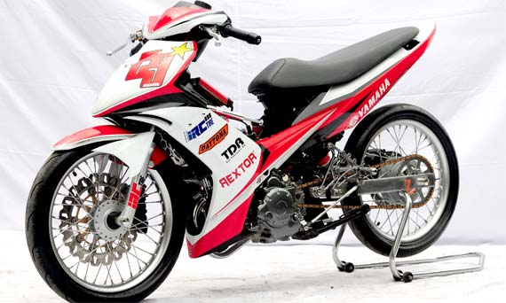 Modifikasi Stiker Yamaha Jupiter Mx