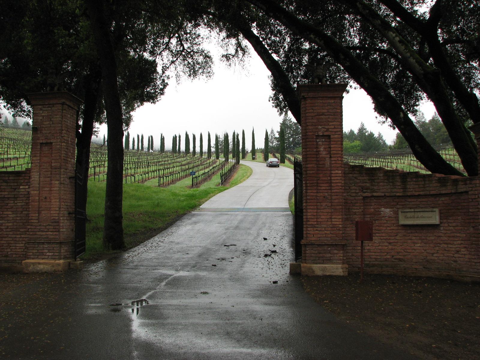 Prairie School Farms: Napa Valley adventures: Castello di Amorosa
