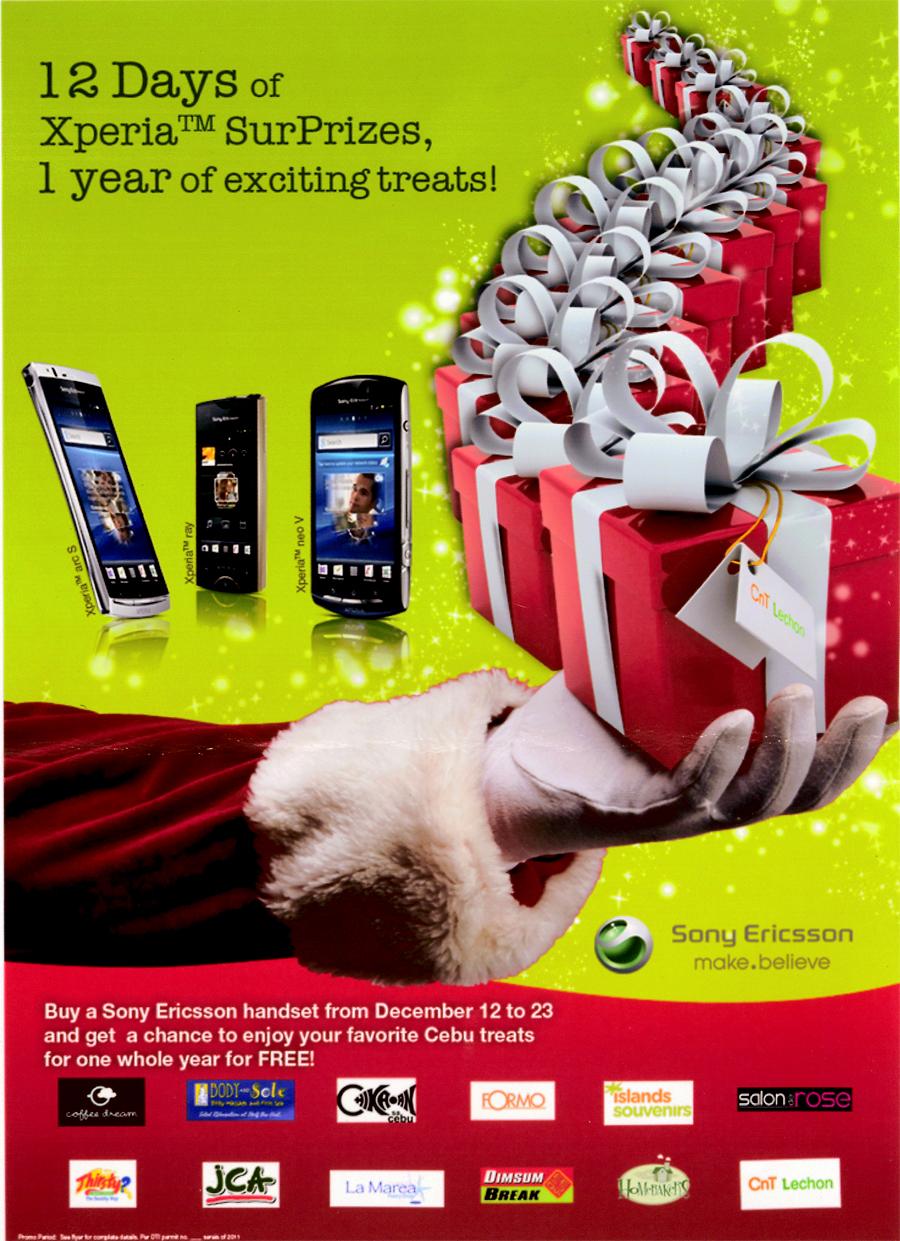 Matudnila com - A Cebu Events Blog: Sony Ericsson 12 Days of