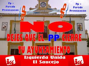 No dejes que el PP cierre tu ayuntamiento