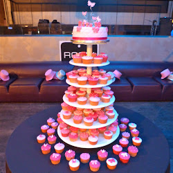 cupcake stand - Torre di cupcake 18° compleanno