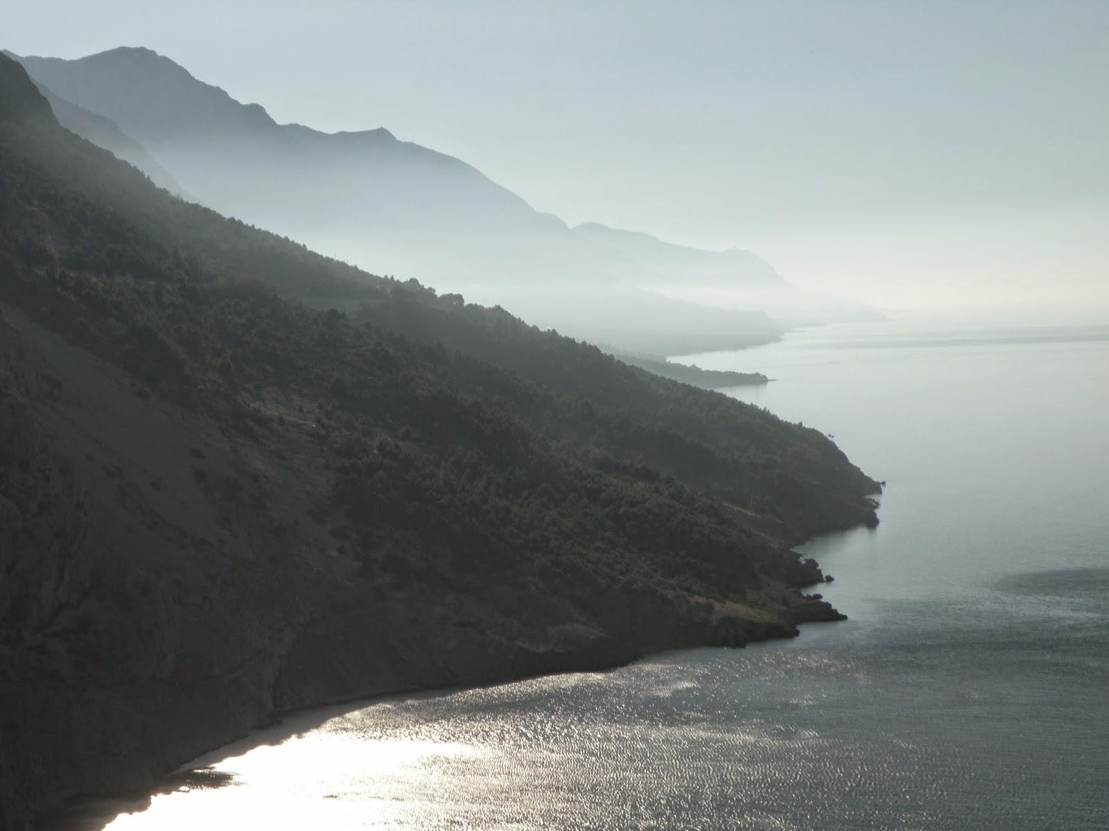 Croatia's Adriatic Highway. Photograph by Janie Robinson, Travel Writer