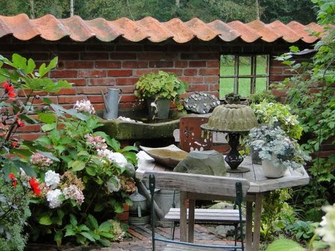 gartendeko-blog: ruinenmauern, Gartenarbeit ideen