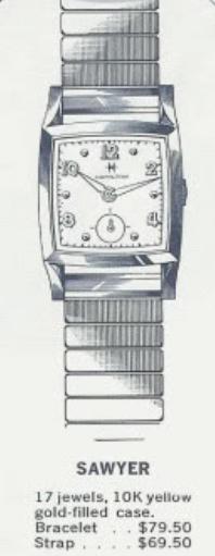 NOS VINTAGE 1950S Hamilton Sawyer Watch Glass Crystal ...