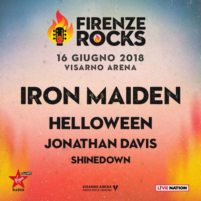 Iron Maiden - Firenze Rocks 16.06.2018