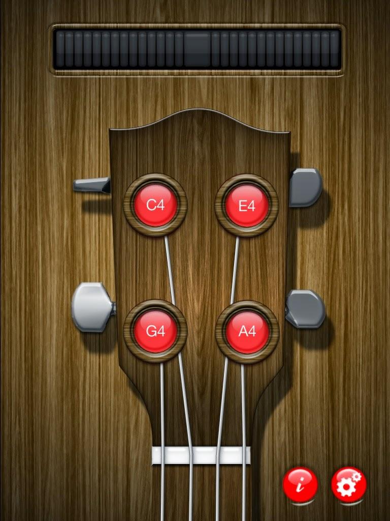 Uke4U Tuner App for iPhone