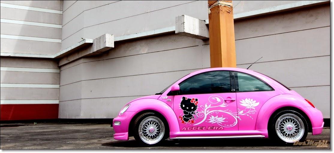 Modifikasi Mobil Volkswagen VW Helo Kity