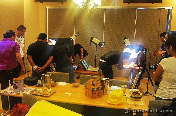 Foodie from the Metro: CCA Culinary School Food Photography Set-Up and Lighting