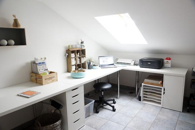 Arbeitszimmer gestaltungsmöglichkeiten ikea  Pin von Patrycja Kownacka auf mieszkanie Ani | Pinterest | Mein ...