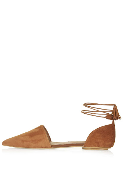 suede strap ankle flats, tan ankle tie flats, suede ankle tie flats, tan suede flats, kaiser tie flats,