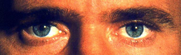 A unos ojos azules...