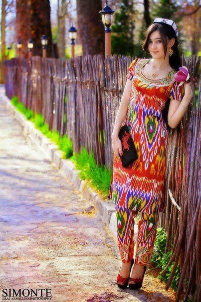 Национальные узбекские платья 160