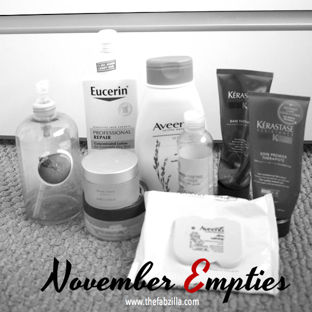 the body shop shower gel satsuma, eucerin professional repair, aveeno, arcona triad toner pads, kerastase resistance, review