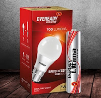 Flipkart First  : Eveready 7 W LED Bulb & AAA Battery Rs. 199 or Rs. 239