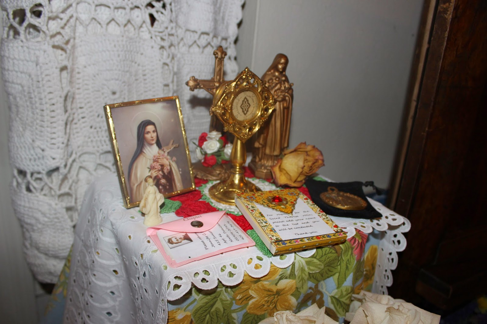 St therese relic