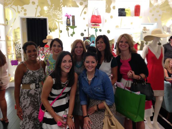 cleveland bloggers at kate spade beachwood