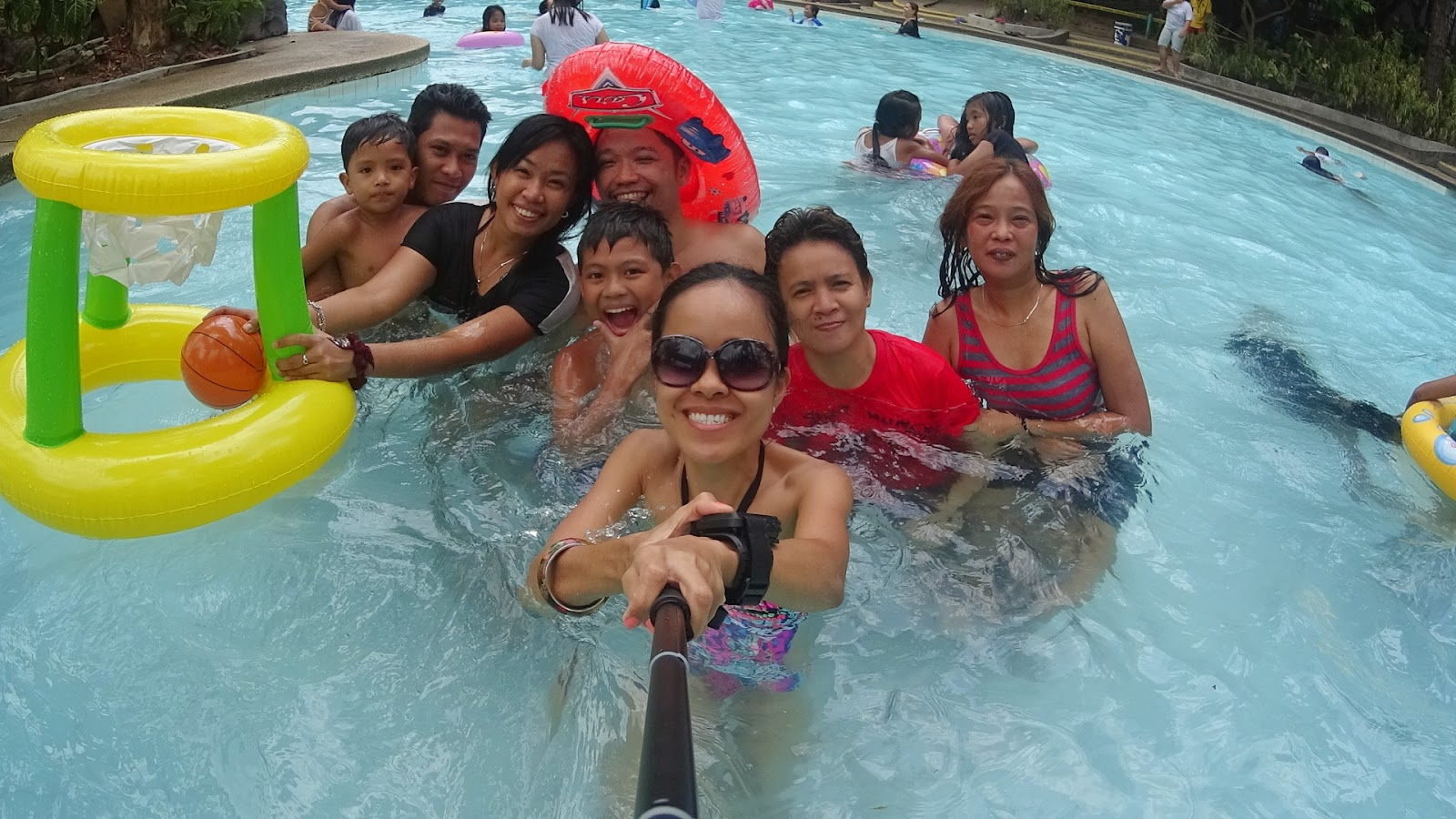 Family Outing at Sitio Lucio/Photo taken using #SonyActionCam